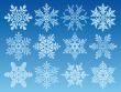 snowflake-icon-set
